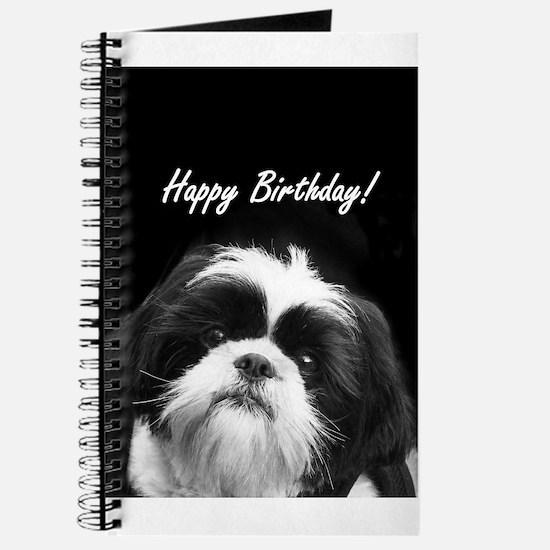Birthday Shih Tzu Journal