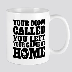 You Left Your Game At Home Weightlifting Mugs