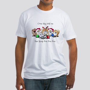 Christmas Pommies Fitted T-Shirt
