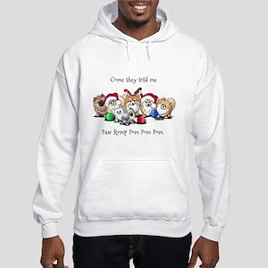 Christmas Pommies Hooded Sweatshirt