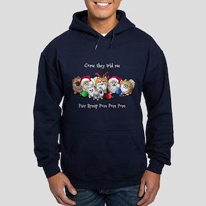 Christmas Pommies Hoodie (dark)