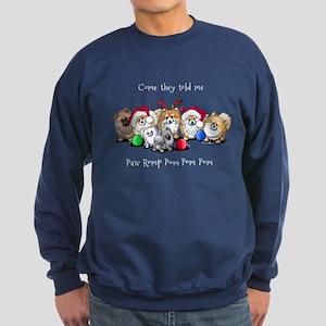 Christmas Pommies Sweatshirt (dark)