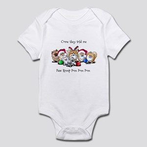 Christmas Pommies Infant Bodysuit