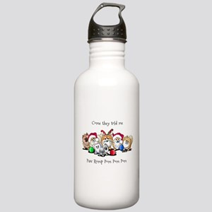 Christmas Pommies Stainless Water Bottle 1.0L