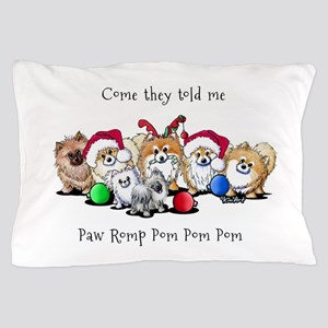 Christmas Pommies Pillow Case