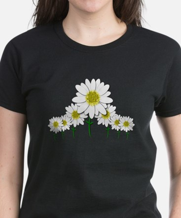 Bunch of Daisies Pattern Design Decor T-Shirt