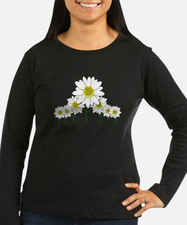 Bunch of Daisies Pattern Design Decor Long Sleeve