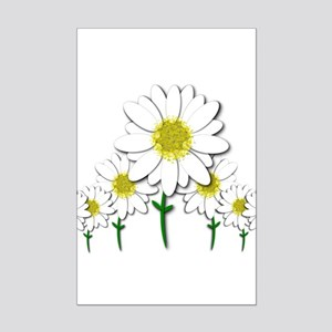 Bunch of Daisies Pattern Design Decor Posters
