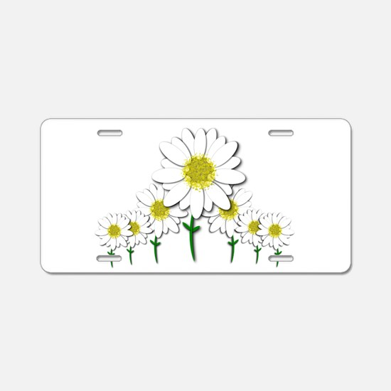 Bunch of Daisies Pattern Design Decor Aluminum Lic