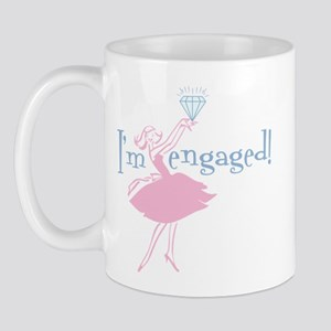 Retro Engaged Mug