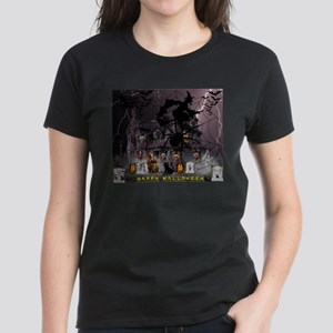 Spidery Witches Haunted House T-Shirt