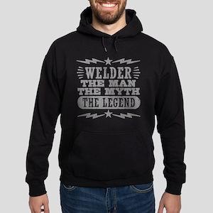 Welder The Man The Myth The Legend Hoodie (dark)