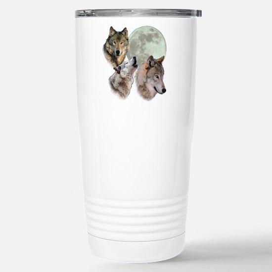 3 Wolf Moon Travel Mug