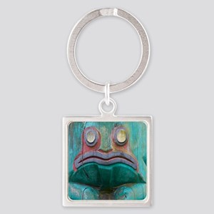 Totem Pole Frog Keychains