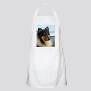 Collie by the Ocean Apron