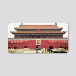 Forbidden City Southern Gat Aluminum License Plate