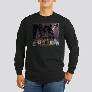 Witches Haunted House Long Sleeve T-Shirt