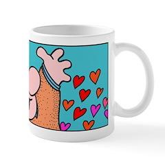 I Love Israel Shulhearts Mugs