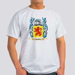Curti Coat of Arms - Family Crest T-Shirt