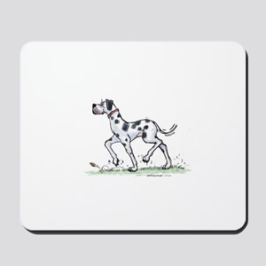 great daneharledave Mousepad
