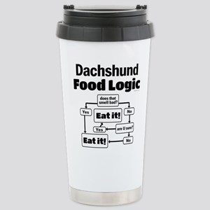 Doxie Food Stainless Steel Travel Mug