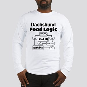 Doxie Food Long Sleeve T-Shirt