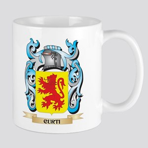 Curti Coat of Arms - Family Crest Mugs