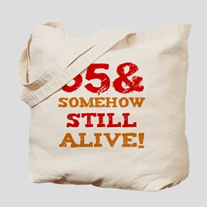 65th Birthday Gag Gift Tote Bag