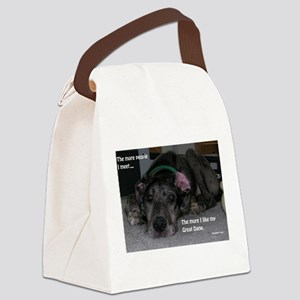 People Canvas Lunch Bag