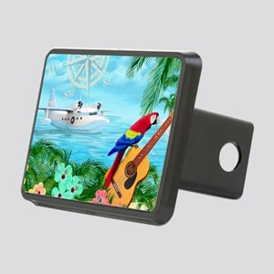 Tropical Travels Rectangular Hitch Cover