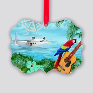 Tropical Travels Picture Ornament