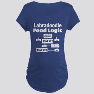 Labradoodle food Maternity Dark T-Shirt
