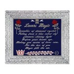 lovers magic Throw Blanket