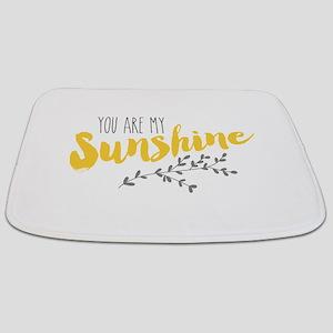 You Are My Sunshine Bathmat