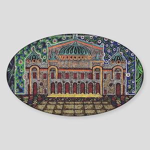 Paris Opera House, Moderne Gallery Style! Sticker