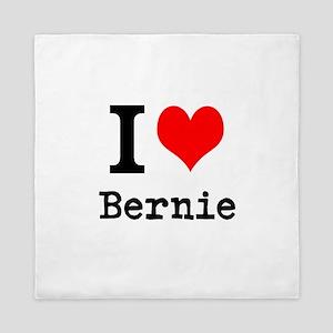 I Love Bernie Queen Duvet