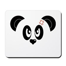 Angry And Annoyed Panda Mousepad