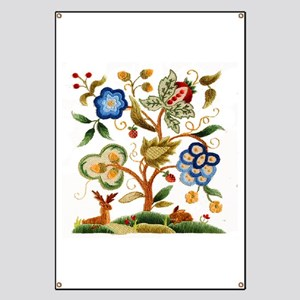 Tree of Life Embroidery Banner