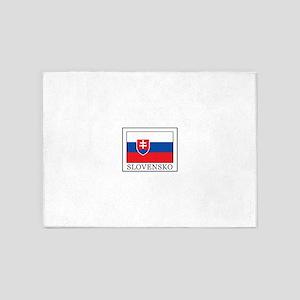 Slovensko 5'x7'Area Rug