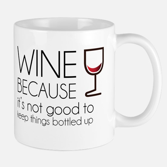 Wine Bottled Up Mug