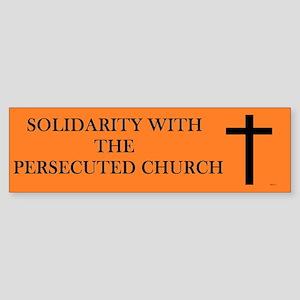 Christian Solidarity Bumper Sticker