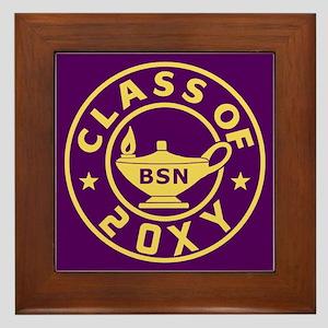 Class of 20?? BSN (Nursing) Framed Tile
