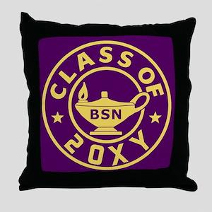 Class of 20?? BSN (Nursing) Throw Pillow