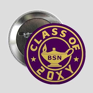 """Class of 20?? BSN (Nursing) 2.25"""" Button"""