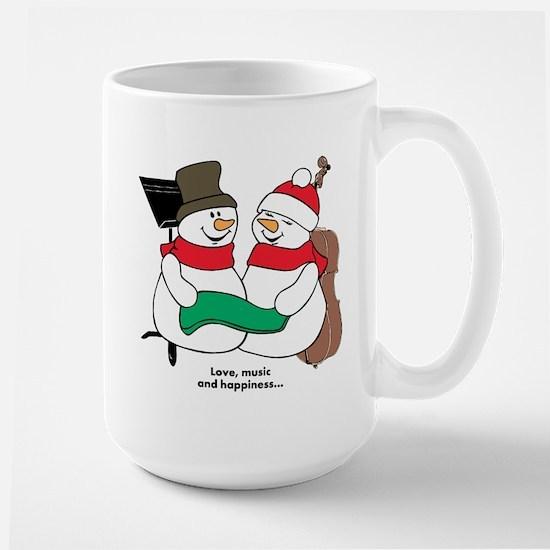 Love, music and happiness... Mugs