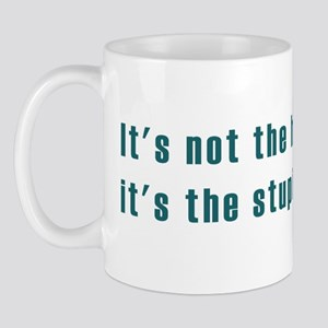 It's not the heat Mug