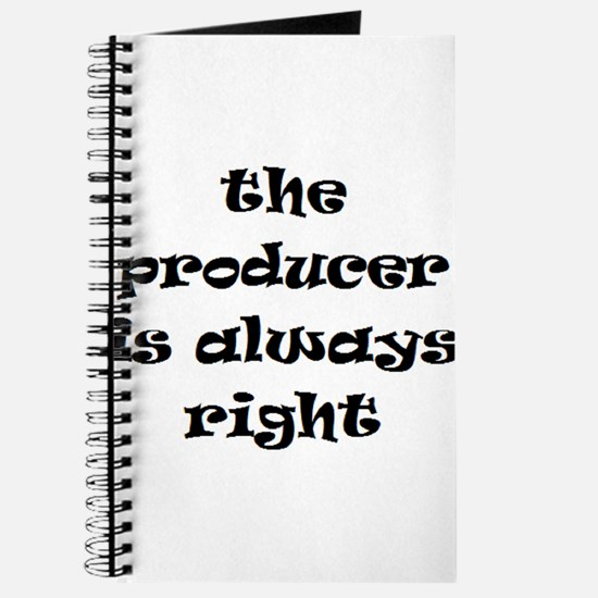 producer always right Journal