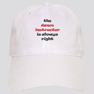 dance instructor right Cap