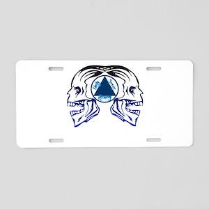 AASkulls Aluminum License Plate