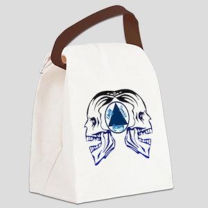 AASkulls Canvas Lunch Bag